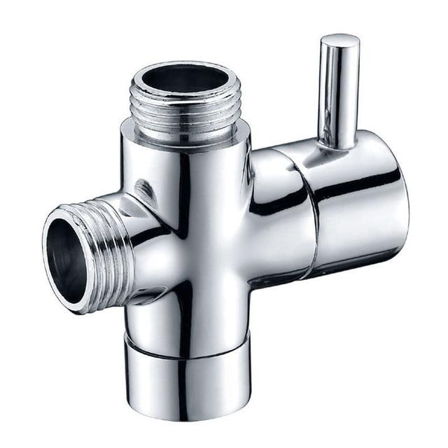 Premium G1 2 Multi Function 3 Way Shower Faucet Diverter With Shut Off