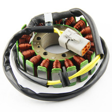 цена на Motorcycle Ignition Magneto Stator Coil for Bombardier Can-Am Outlander Max 400 STD XT 4X4 Magneto Engine Stator Generator Coil
