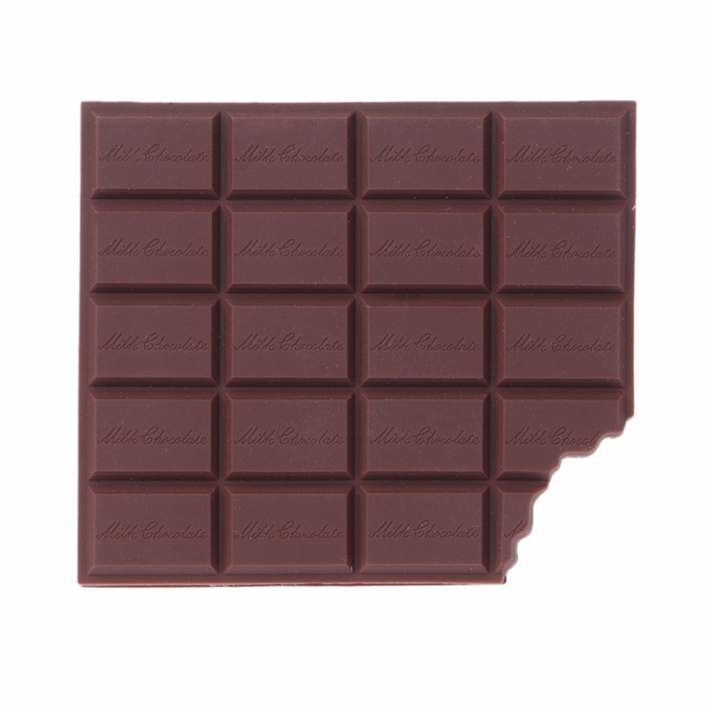Bitten Chocolate Notebook High Quality Paper Memo Pad School Office Stationery