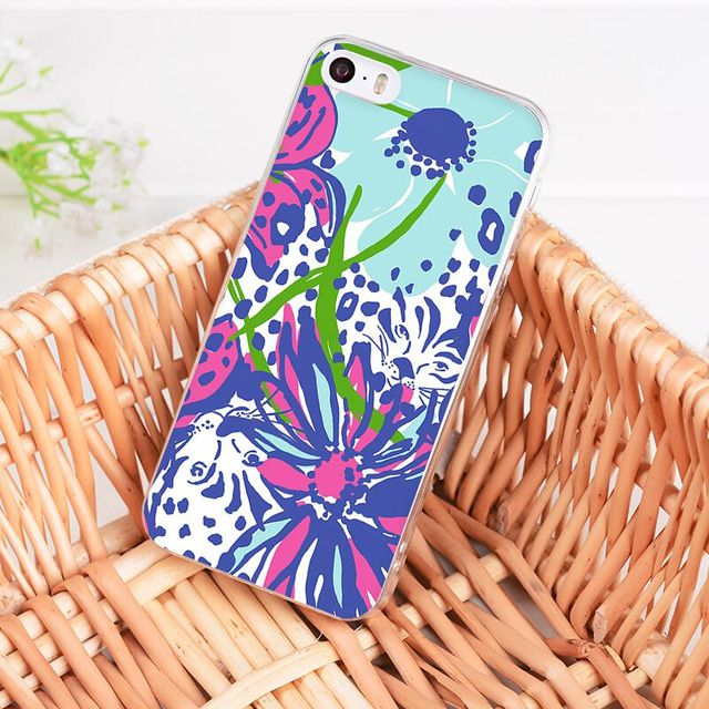 bef57d19dc7b9 MaiYaCa For iphone 7 6 X Case Lilly Pulitzer Summer flower Pink ...