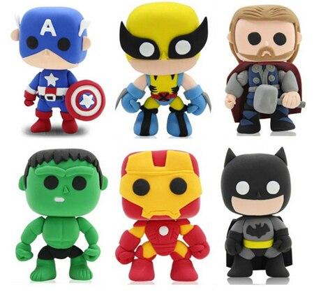 Hervorragend Marvel The avengers argile de couleur bricolage Q super hero  ES66