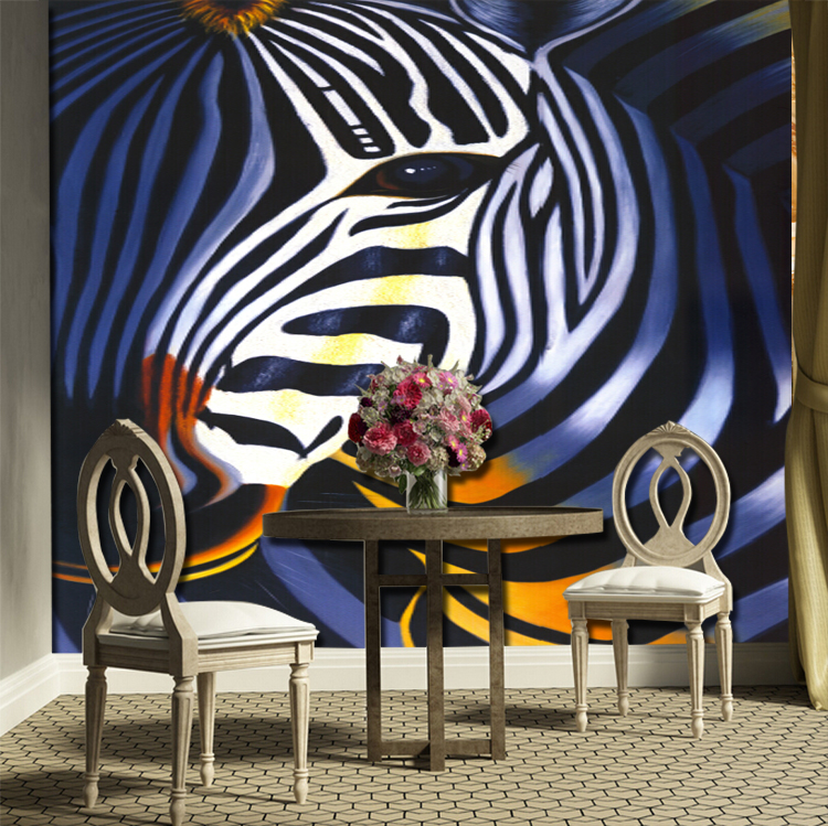 3D Cute zebra 33 Wall Paper Wall Print Decal Wall Deco Indoor wall Murals