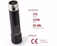 2 pcs 2100 mAh 3.6 V Bateria Recarregável de Substituição para BLACK & DECKER VersaPak Poder Lavadores VP105 VP100 VP110 VP143 151995-03