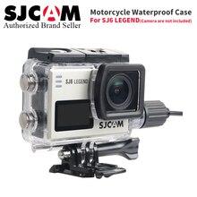 Оригинальный SJCAM Интимные аксессуары sj6 мотоциклетные Водонепроницаемый чехол для sj6 Легенда Action Sports камеры sj6 зарядный чехол с USB кабель