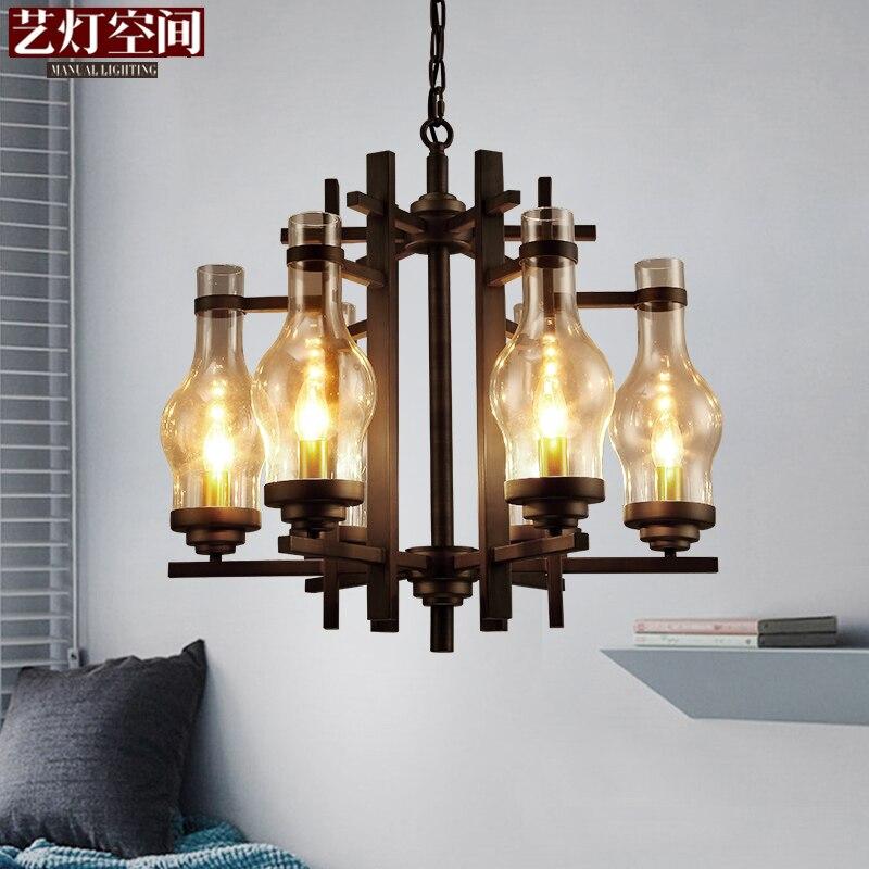 LED Nordic Fixtures Post-Modern Designer hanging lights Restaurant Lamps living room Lighting Bar Cafe Chandeliers цена 2017