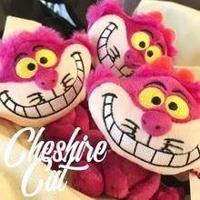 Чеширский Кот из Алисы милые мини вещи плюшевые игрушки куклы кулон девочка подарок на день рождения 10 см
