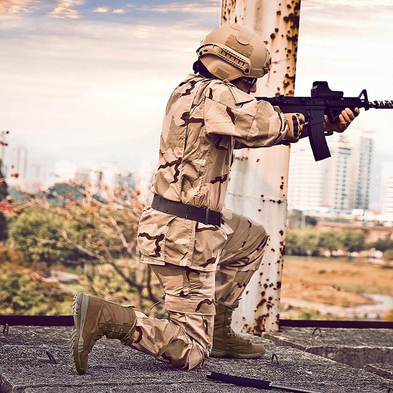 Moda 38 Táticas Livre De Tamanho Deserto 4 413 marrom Exército Ao Estações Botas Homens Ar Xx Combat Microfibra Pano Boots Preto Do Militar 45 AqAwrUCEva