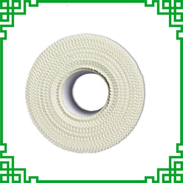 Coton respirant médical hypoallergénique | Bandes de viscosité fortes imperméables pour Sport, premiers soins médicaux avec bords dentelés