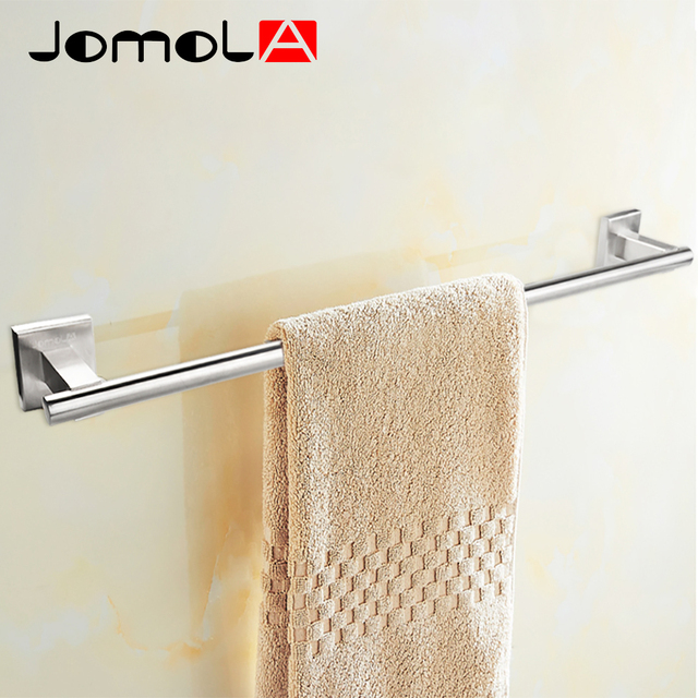 Towel Hanger Part - 23: Stainless Steel Towel Bar Single Towel Rack Wall Mount Towel Hanger  Bathroom Accessories Bath Hardware JOMOLA_JB