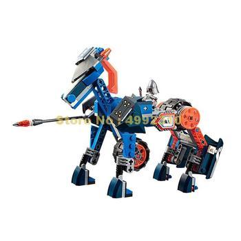 255 Uds. Guerrero del castillo caballo robo de caballeros lanza 3 figuras bloques de construcción 70312 ladrillos de juguete