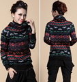2017 Women Autumn Winter Knitted Sweater Turtleneck Long Sleeve Sexy Slim Women Sweaters and Pullovers