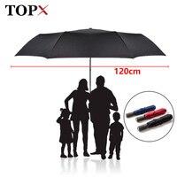 High Quality Brand Large Folding Umbrella Men Rain Woman Double Golf Business Gift Umbrella Automatic Windproof