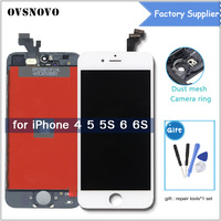 LCD Touch Display Digitizer For IPhone 5s 4S 5 Screen Replacement Assembly For IPhone 6 6s