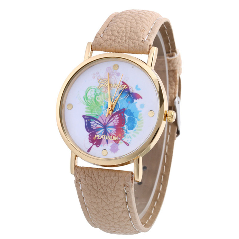 Relogio Feminino Watch Watches Women Fashion Leather Band Analog Quartz Vogue Wrist Watches  july25 new fashion women retro digital dial leather band quartz analog wrist watch watches wholesale 7055