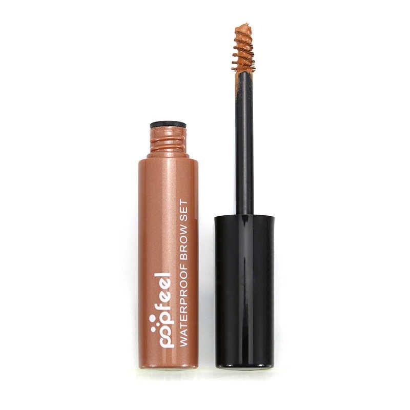 Popfeel, профессиональный, 4 цвета, гель для бровей, водонепроницаемый, стойкий, коричневый, для бровей, тату, краситель, гель, для бровей, ТИНТ, maquillaje TSLM1