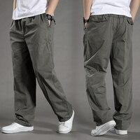 Men Harem Tactica Pants Brand 2018 Summer Sagging Cotton Pants Men Trousers Plus Size Sporting Pant