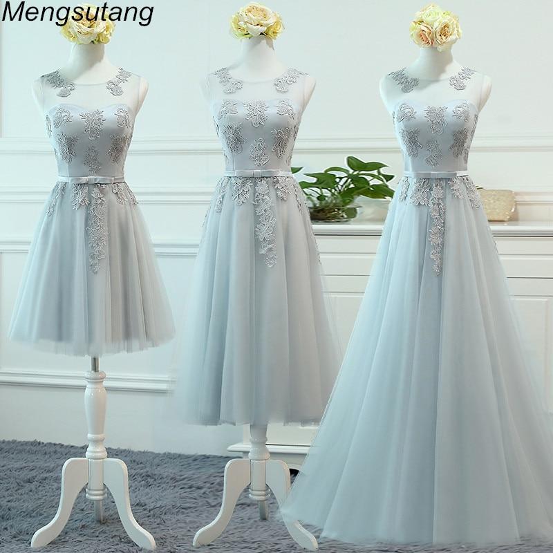 Robe De Soiree Pink Lace Up A-Line With Appliques Long Dress Elegant Bridesmaid Dress Formal Vestido De Festa Party Prom Dresses