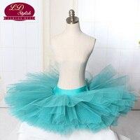Girls 7 Layer Stiff Pancake Ballet Tutu Adult Black Half Ballet Tutus LD0001S Practice Tutu Skirts