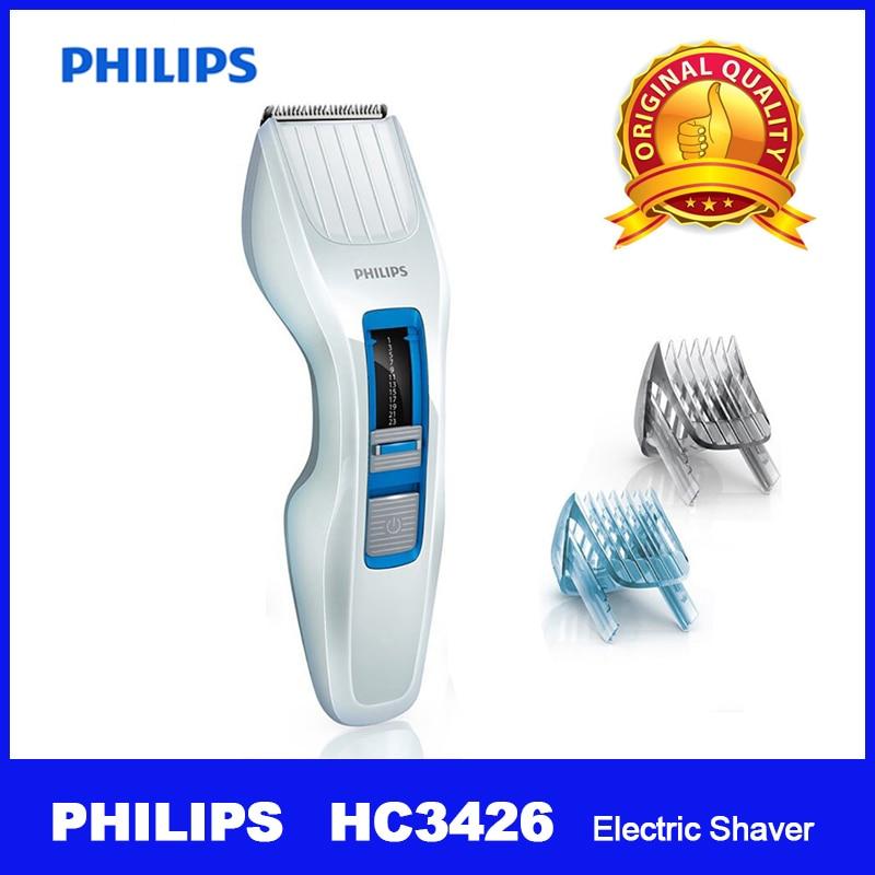 Ev Aletleri'ten Elektrikli Traş Makineleri'de PHILIPS HC3426/15 Elektrikli Tıraş Makinesi Şarj Edilebilir DualCut Ayar Uzunluğu erkek Çocuk Yetişkin Çocuklar için Akülü'da  Grup 1