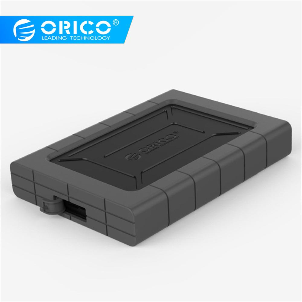 ORICO HDD SSD Adapter 2.5 Inch Type-C USB3.1 SATA Hard Drive Disk Box Enclosure External Case Support USAP 2TB