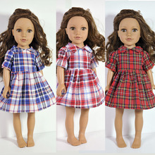 Variety of Princess yarn dress Clothes for dolls fits 45cm American girl and Zapf baby born doll accessories