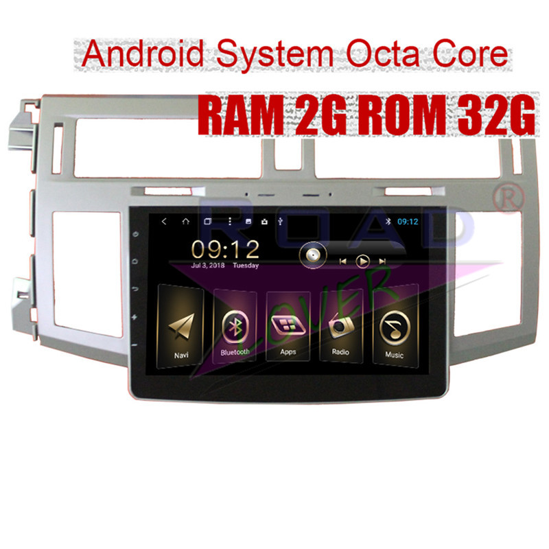Roadlover 2 Din Android 8.1 Car Video Multimedia Player For Toyota Avalon 2006 Stereo GPS Navigation Automagnitola Radio NO DVD