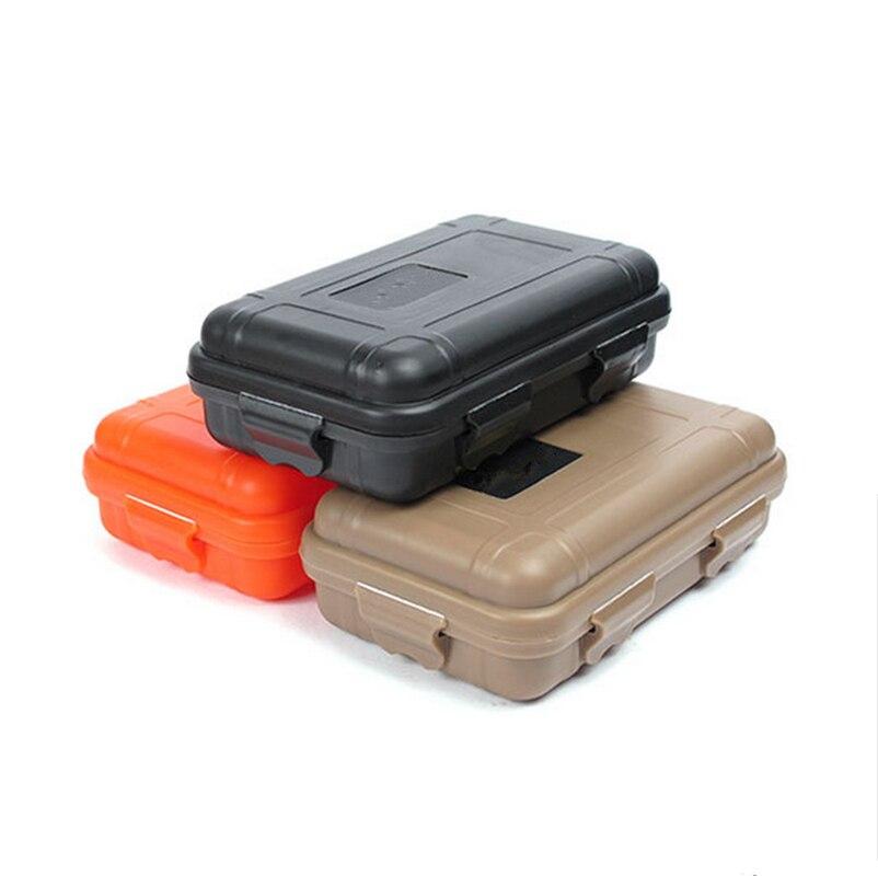 1x Waterproof Shockproof Plastic Outdoor Survival Container Storage Case Carry``