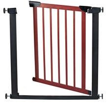 Экспортного качества 75-82 см ребенка твердой древесины ворота ребенка балкон лестничные ограждения собака изоляции забор ворота пэт