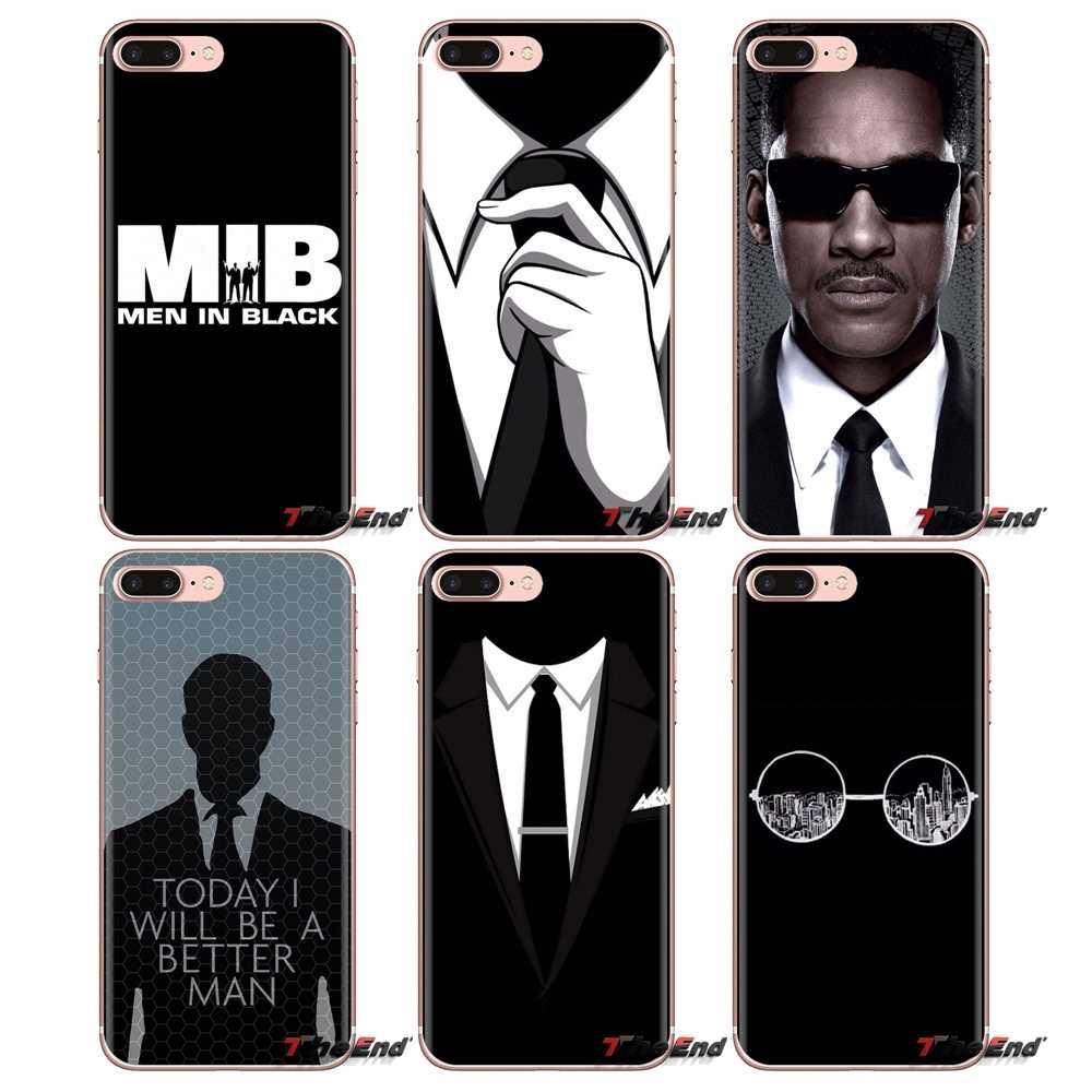 Темный костюм Mystery Man мужской черный для Xiaomi Redmi 4A S2 Note 3 3S 4 4X5 Plus 6 7 6A Pro Pocophone F1 силиконовый чехол для телефона