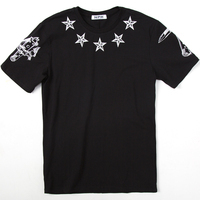 Sunmmer Men T Shirts print cotton Pentagram O Neck short sleeved t shirt Men's Casual brand Tee Shirt men tshirt