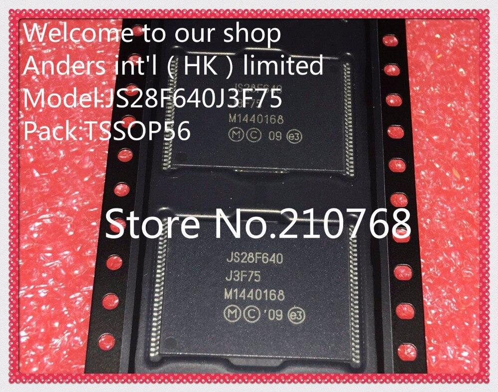 10pcs lot JS28F640J3F75A JS28F640J3F75 JS28F640J3F JS28F640 TSSOP56