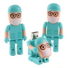 promotion 4GB 8GB 16GB 32GB 64GB Doctor Nurse dentist USB Flash Drives USB 2.0 Flash Memory Pen Drive Stick