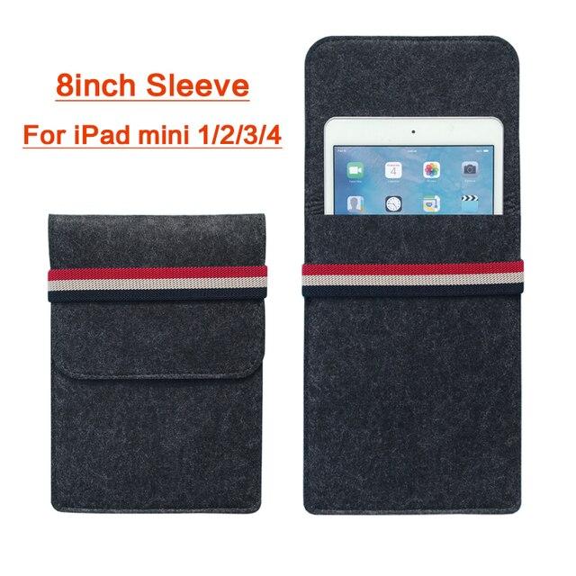 Funda para iPad mini 1 2 3 4 funda suave para tableta bolsa de forro bolsa de manga a prueba de golpes funda inteligente para iPad 7,9 pulgadas ebooks 2017