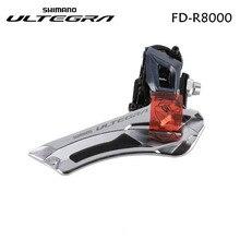 Shimano bicicleta Ultegra, FD R8000 R8000, desviador frontal de bicicleta de velocidad 2x11, abrazadera de 31,8mm y 34,9mm