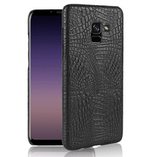 For Samsung Galaxy A5 2018 Case Luxury Crocodile Skin Hard Cover For Samsung Galaxy A5 2018 A5300 Case for Samsung A5 2018 цена