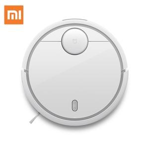 Image 2 - Global Version Original Xiaomi MI Robot Vacuum Cleaner MI Robotic Smart Planned Type App Control Auto Charge LDS Scan Sweeping
