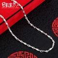 Beier new store 100% 925 silver sterling necklaces pendants trendy fine jewelry chains necklace for women/men  BR925XL078