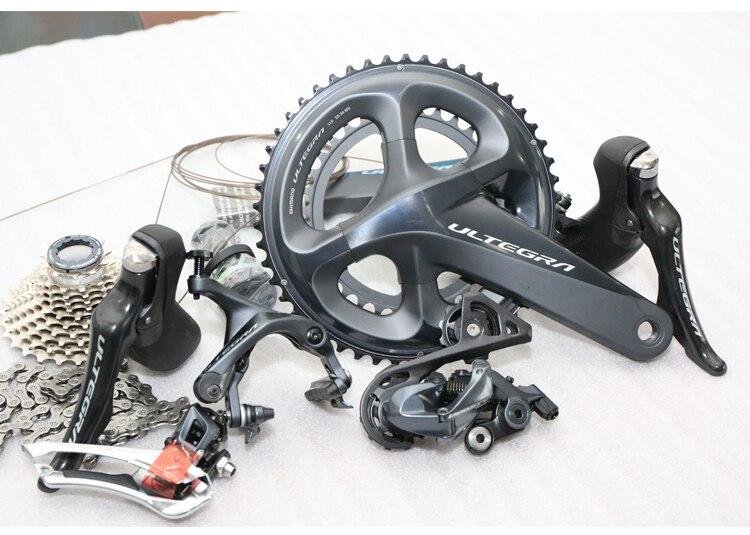 Vélo de route SHIMANO ULTEGRA R8000 nouveau groupe complet 2018 (Compact 50/34 T, 172.5mm, 11 vitesses, Cage courte, braser, 11-28 T, Ch