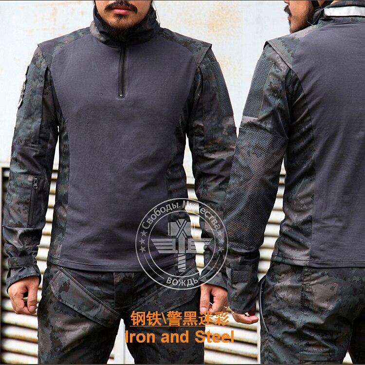 TRU 65/35 Polyester Cotton Rip-Stop Combat Shirt