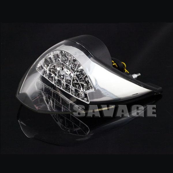 ФОТО For KTM 990 SUPER DUKE 2007-2012 Clear Motorcycle Integrated LED Tail Light Turn signal Blinker