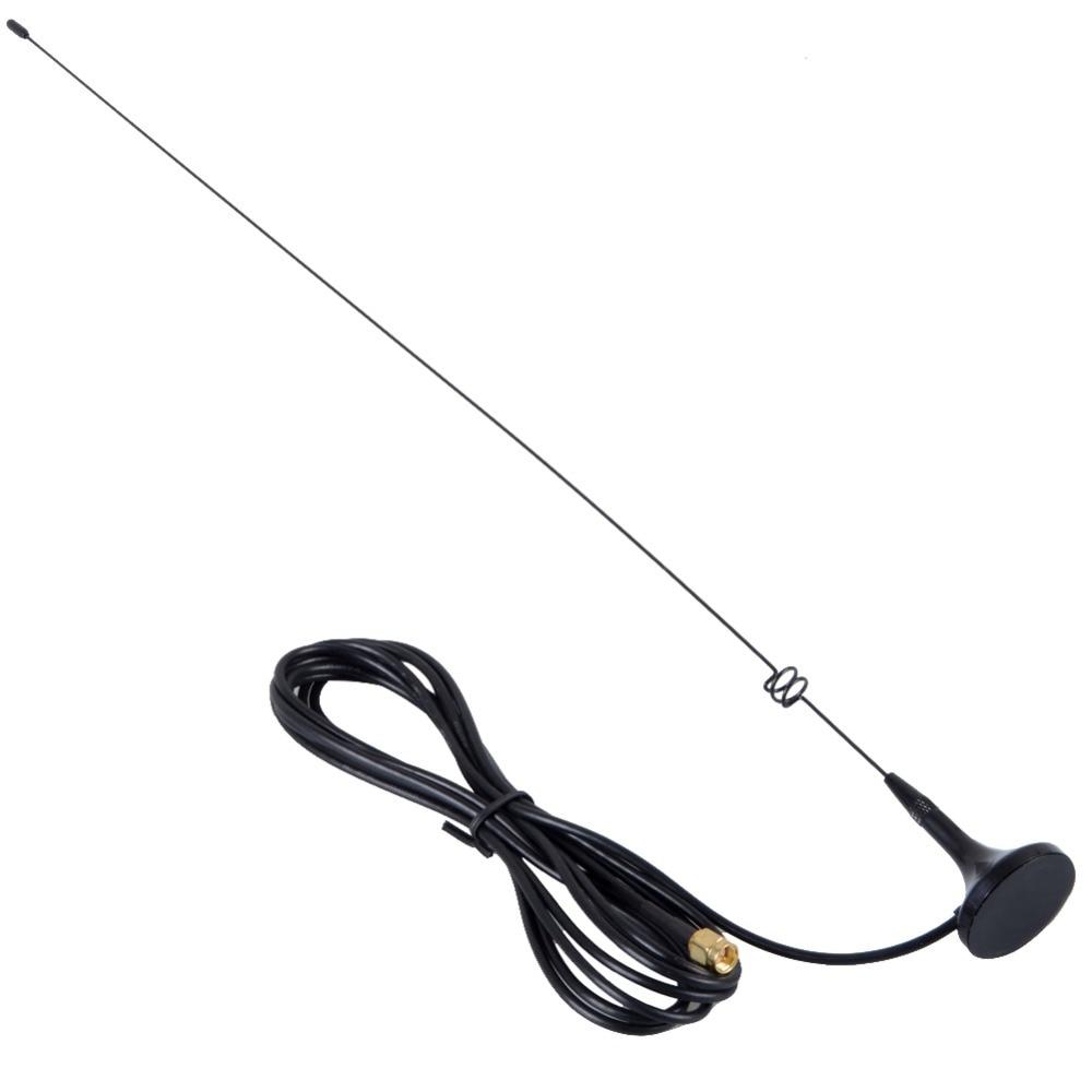 UT108 SMA Male Car Mobile Magnet Antenna FHRG For Yaesu VX-1R/2R/3R/LT-6100PULS