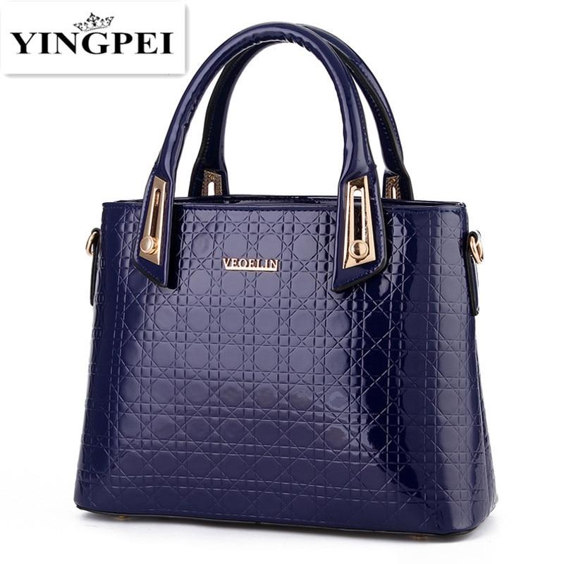 YINGPEI Women Bags Casual Tote Women PU Leather Handbags Fashion Shoulder Women