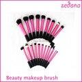 22 pcs Super Macio Denso Make Up Escova Incrível Kit Completo para Maquiagem