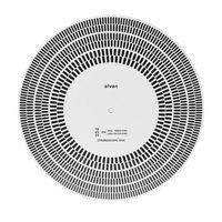 2020 Новый LP виниловая запись проигрыватель фонометр калибровка стробоскоп диск стробоскоп мат 33 45 78 об/мин