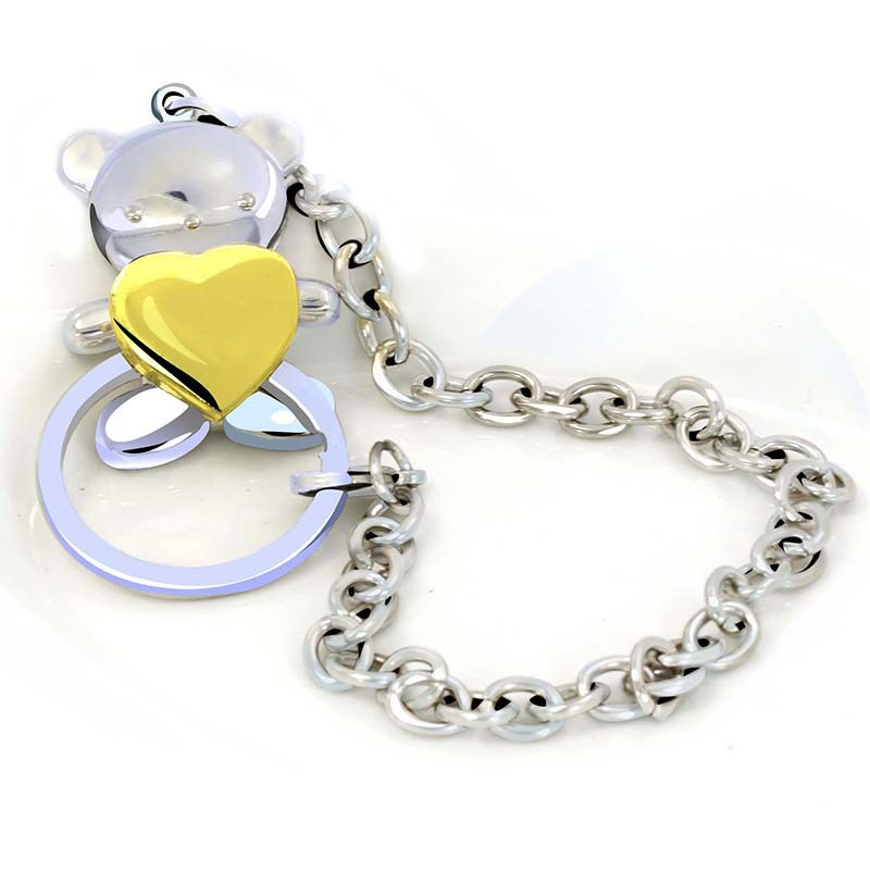 Popular teddy key chain buy cheap teddy key chain lots for High end gifts for women
