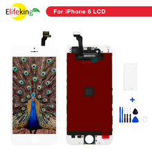 цена на 5PCS/Lot 4.7  For iPhone 6 LCD Display Black White No Dead Pixel Display Panel with Touch Digitizer Screen Replacement