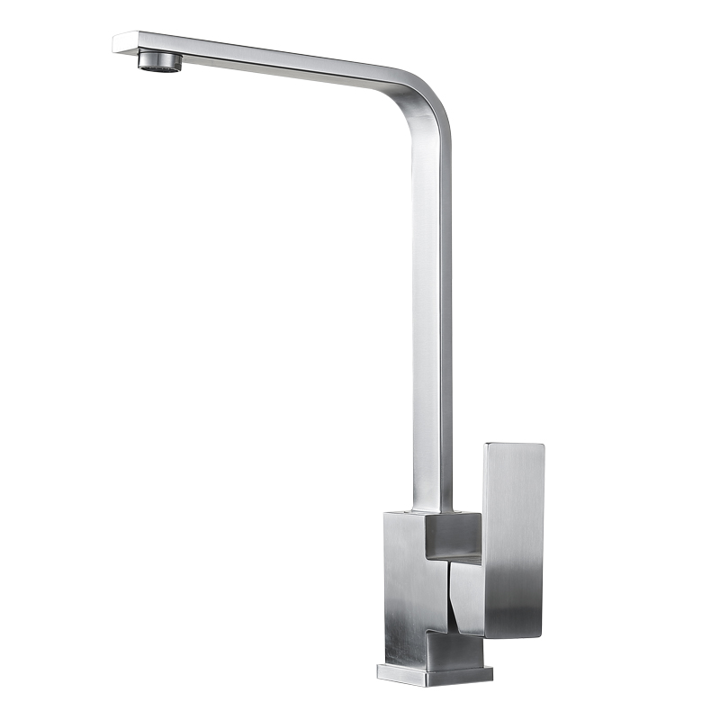 Sus304 Stainless Steel Kitchen Faucets Brushed Mixer Water: BLH515 2016 Modern SUS 304 Stainless Steel Kitchen Faucet