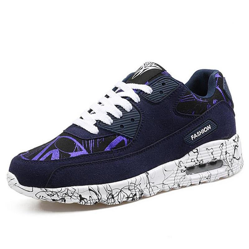 Новые мужские и женские кроссовки 2017 воздуха любовник спортивные кроссовки унисекс дышащие кроссовки корзина суперзвезда ходьбы Zapatillas