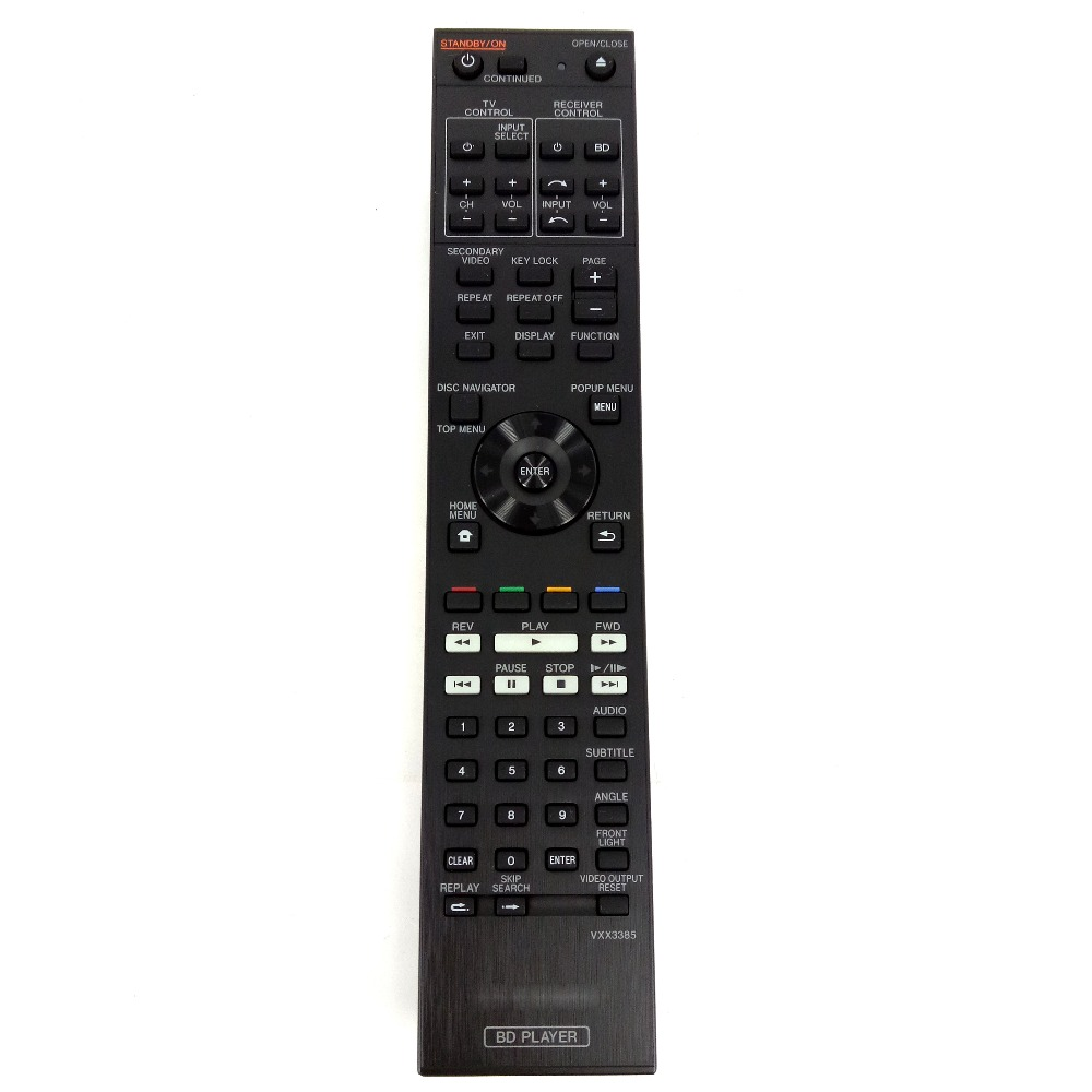 original remote control for pioneer vxx3385 for blu ray. Black Bedroom Furniture Sets. Home Design Ideas