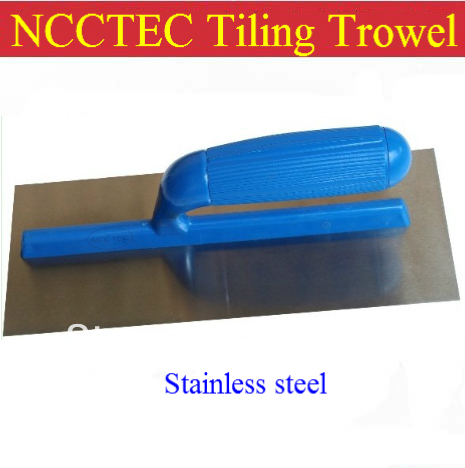 NCCTEC Tiling Trowel Stainless Steel 11'' Plastic Handle FREE Shipping 280mm 28cm